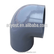 China Factory UPVC Pipe Fittings 90 Degree UPVC Bends