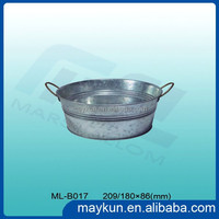 Promotional Items Galvanized Metal Ice Bucket