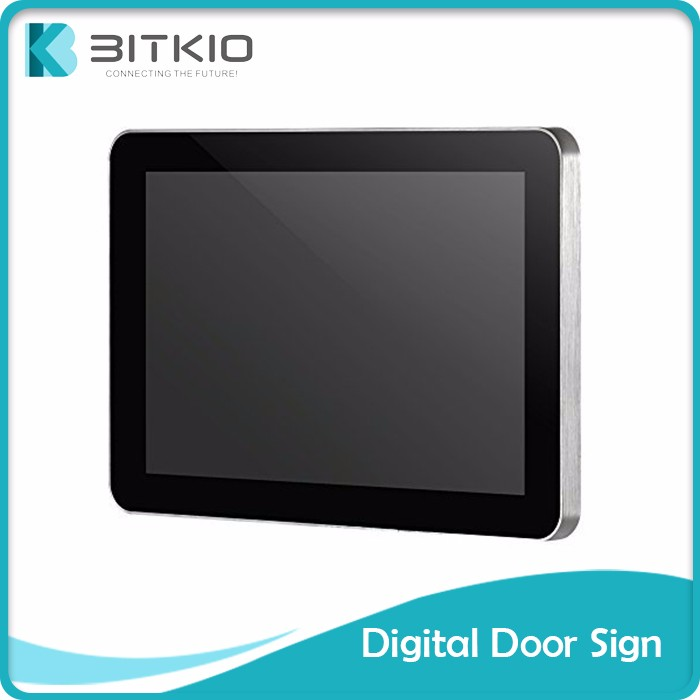 "BITKIO 2017 trending products innovative 13"" vga tft lcd monitor with bitcoin payment"