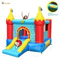 Happy hop Castle Bouncer with Slide-9312 Indoor Inflatable Castles From China