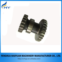 machining double spur gear/steel cluster gears/transmission gears
