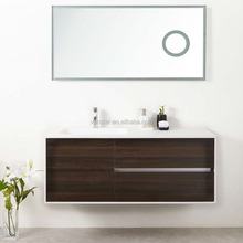 Modern Bathroom Furniture Bathroom Cabinet With LED Mirror