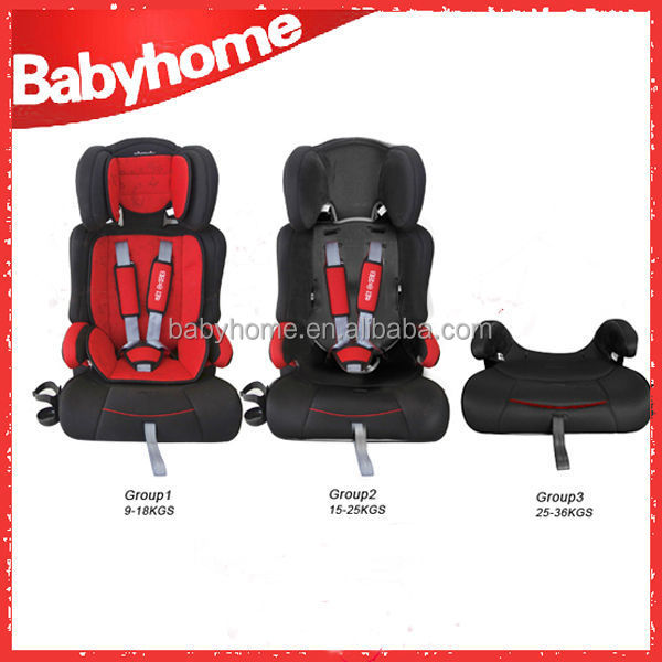 5 point harness Cloth Material small bus car seats
