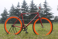 Hangzhou Oem fixed gear bike factory/ cheap and good quality 700C fixies bikes