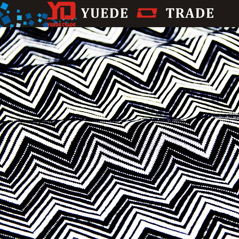 Shaoxing textile yarn dyed jacquard Polyester rayon spandex fabric