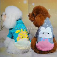 wholesale Hot selling pet dog products high quality hand knit dog sweater