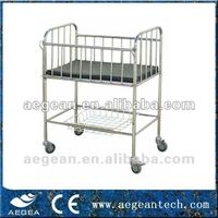 AG-CB005 with wheels stainless steel hospital swing cradle