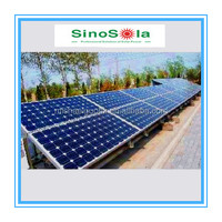 Sinosola 10KW On Grid Solar System For Home With TUV Standard PV Modules