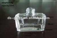 15ml small empty glass bottle for air feshener
