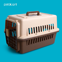 Plastic Dog Kennel Wholesale Dog Crate Pet Carrier Airline Approved