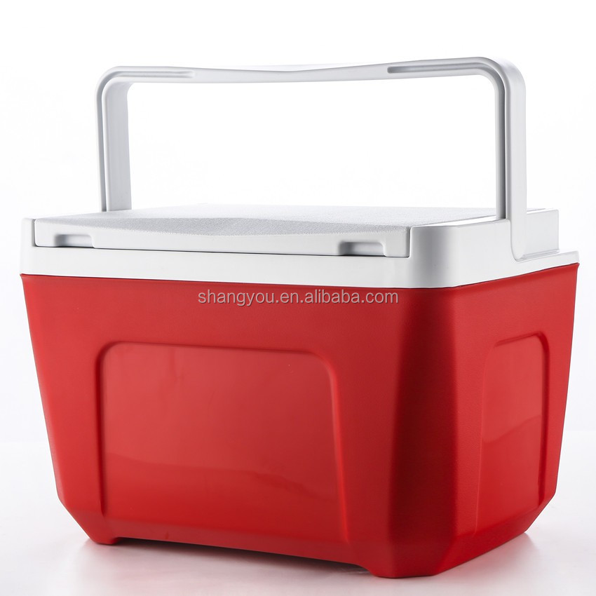 9L portable insulated type SY plastic ice cooler