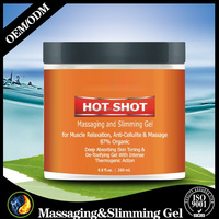 8.8oz Massaging And Slimming Gel For Muscle Relaxation Anti-Cellulite And Massage