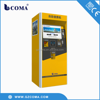 2015 new design bill payment machine for parking payment