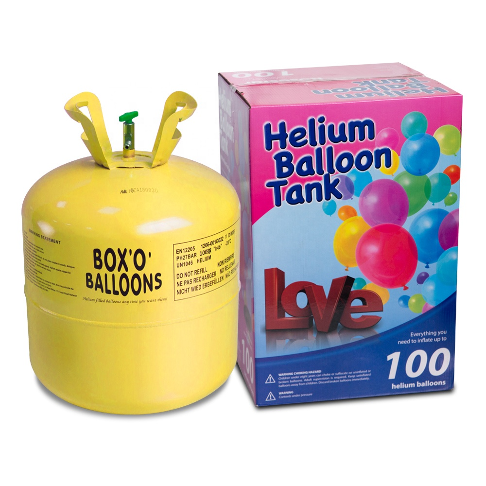 disposable helium ballon gas <strong>cylinder</strong> with 7L, 13L and 22L helium tank capacity