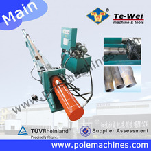 Hydraulic system necking machine for steel pipe