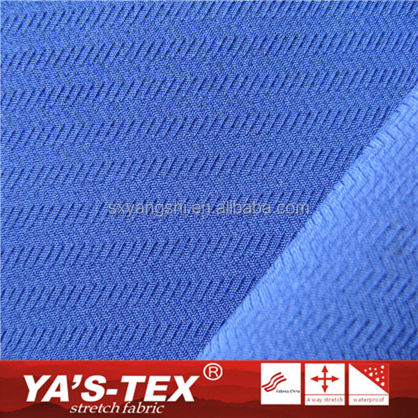 Dry Fit Jacquard Plain Dyed Waterproof Recycled Fabric 4 Way Stretch Polyester Elastane Fabric For Women Dress