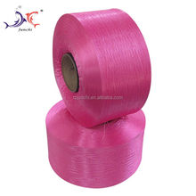 High Quality 450D Red Fluorescence Polypropylene Hollow Yarn For Knitting