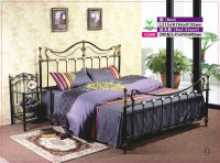 hot sale high quality cast wrought iron 1.6m bed G280
