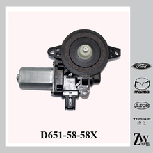 Front Mazda M2 DE Power Window Lifter Motor D651-59-58X , D651-58-58X