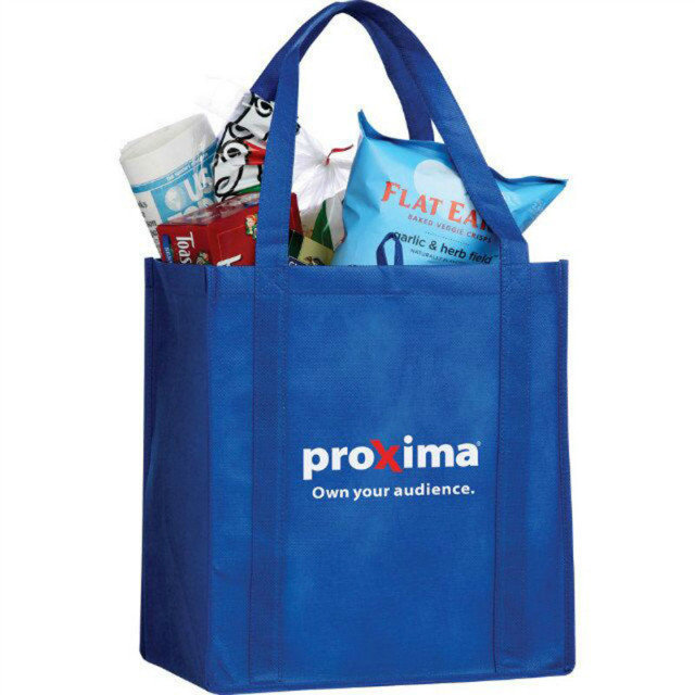 non woven fabric foldable grocery laminated shopping bag