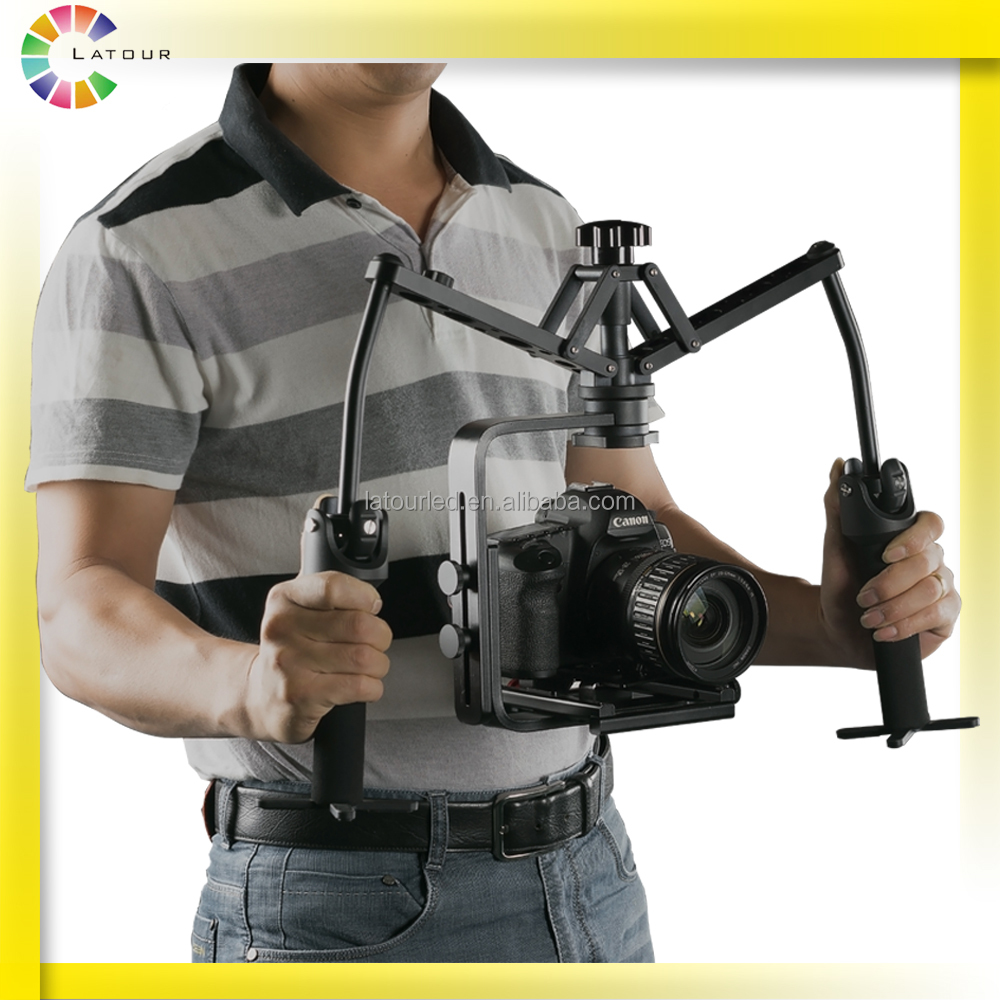 2016 huizhou foldable handheld photography DSLR gimbal best stability 3 axis stabilizer camera