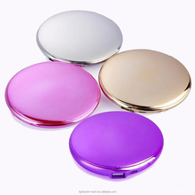 New fashion 10000mAh style makeup dressing box style power bank with mirror powder box style phone charger