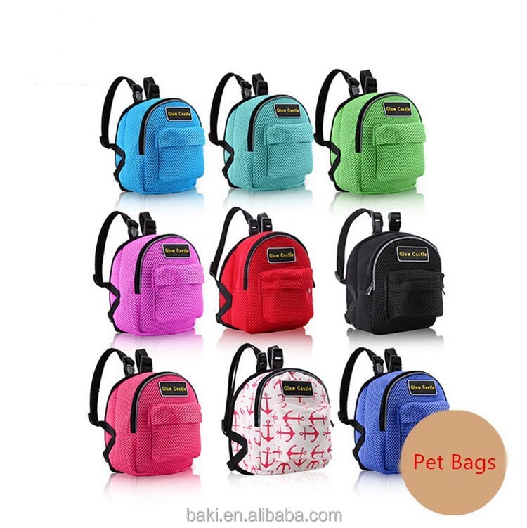 Factory sale fashion dog harness backpack
