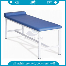 AG-ECC02 CE ISO approved adjustable stainless steel hospital examination table
