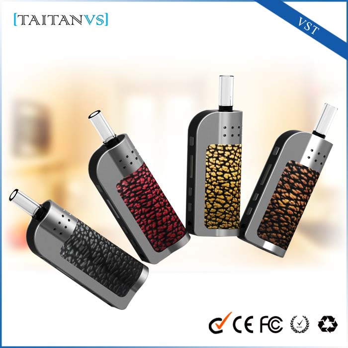 2016 newest portable wax vaporizer ceramic heating element herbal vaporizer