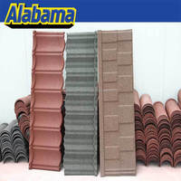 good quality colorful popular colorful stone coated metal roofing tile , flant sand metal roof tile, braas roof tiles