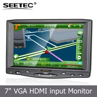 "7""tft display touch screen laptop lcd ultra slim monitor for car application"