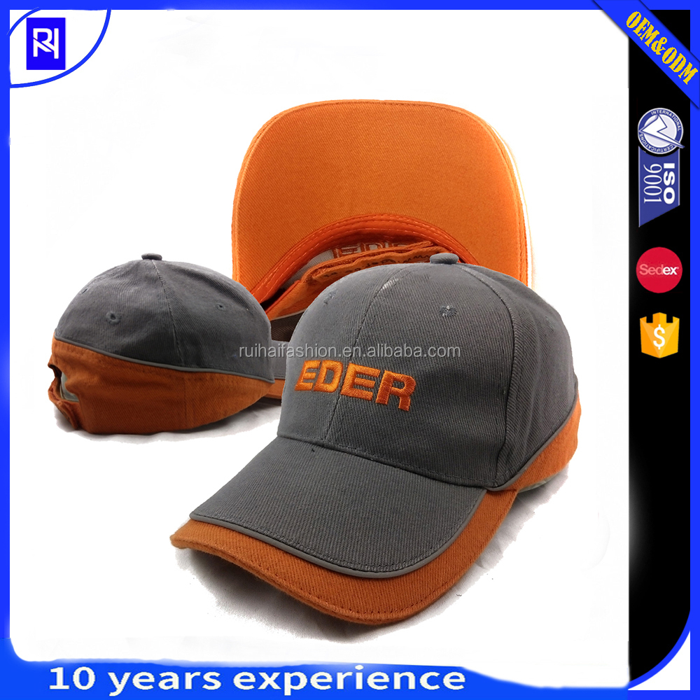 The new style baseball cap wholesale full cotton free different types of caps