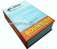 Japanese to Korean Translation Art Paper Sewn Binding Dictionary Printing