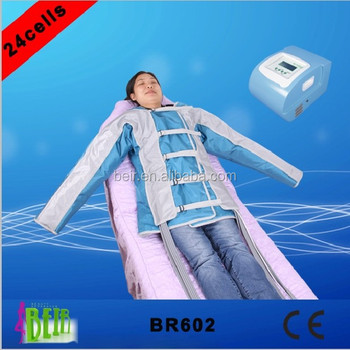 Pressotherapy system muscle massage / Pressotherapy Lymph drainage Abdomen Massage circulation sport man muscle therapy