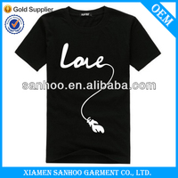 Custom Made Extral Length Tall Tee Shirts Wholesale O Neck Top Quality