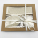 custom Sisal jute gloves Soap SPA bubble bath gift set