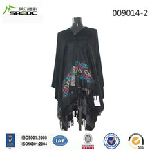 Good Service Hot New Products Oem Fashion 100% Acrylic Latest Design Shawl