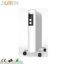 New design Oil heater with LCD dispaly and safety protection oil filled radiator
