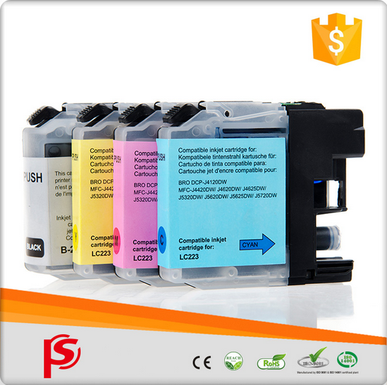 Wholesale printer refill ink cartridge for brother lc223
