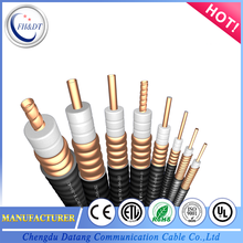 China new designed corrugated 1 5/8 rf coaxial cable with CE LTE application