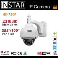 INSTAR IN-7011 HD wireless p2p QR code surveillance phone camera