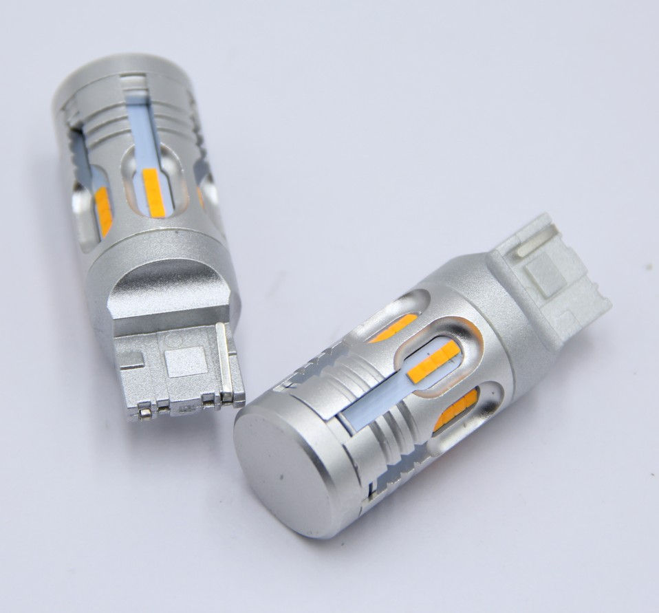 amber 1156/3156/7440 led universal brake lamp reverse light 24 SMD 2020 csp 7440 led canbus for BMW E46 E90