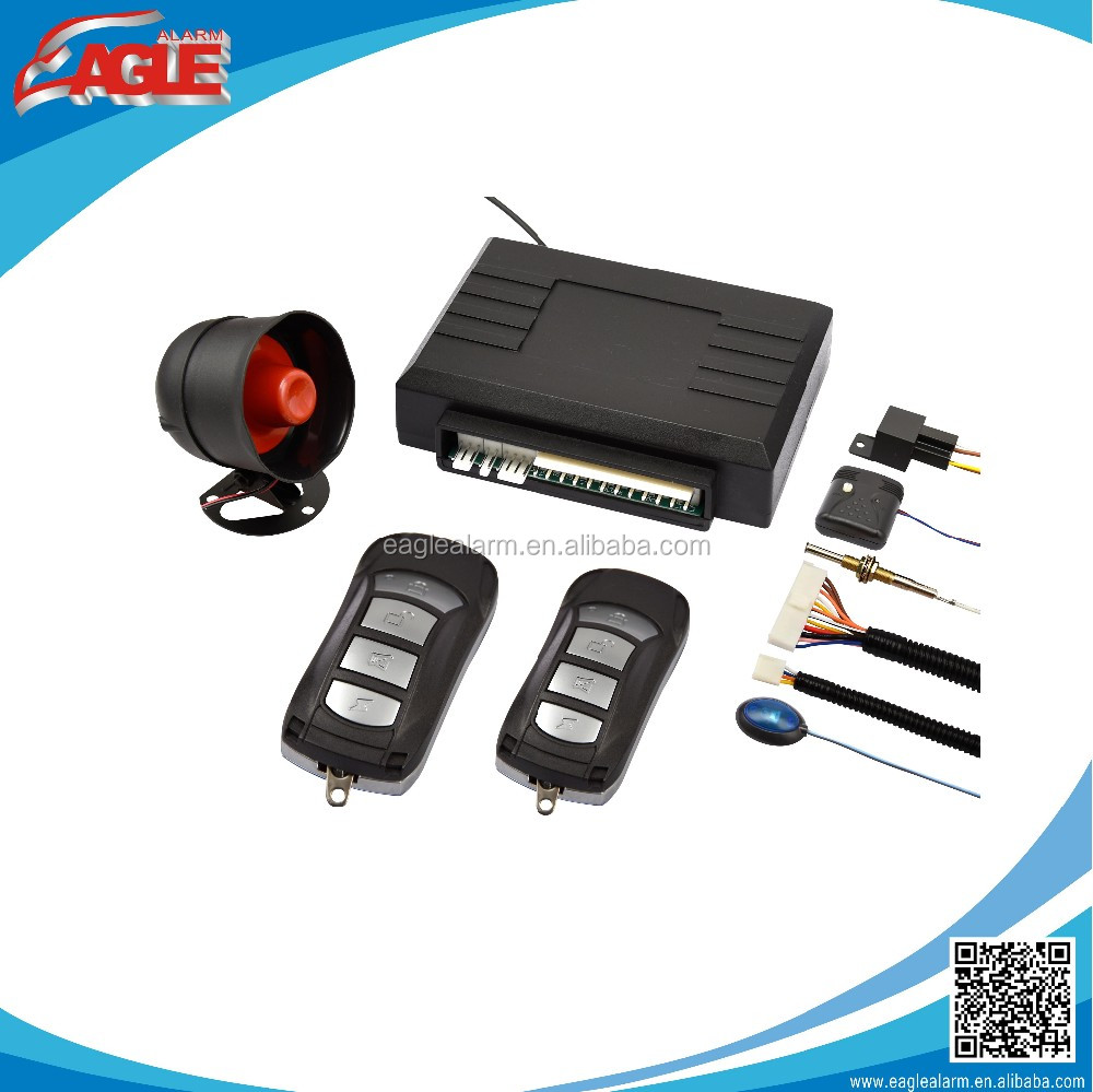 Universial one way long remote distance eagle car alarm system EG-L3000