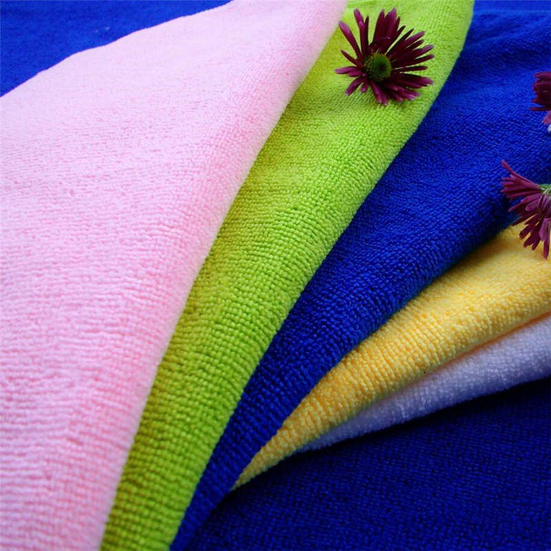 Home Appliance Usage Ultra Fine Microfiber Towels With Free Sample