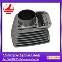 hot sell chinese motorcycle cylinder block for CG200CC engine parts