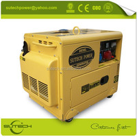 Cost effective three phase 4 stroke recoil/electric start 380v 10kw diesel generator price