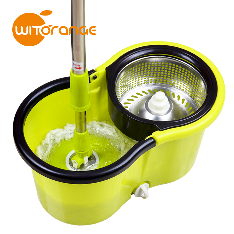 2016 Wholesaler Price 5L 8 Shape 360 Mini Mop with Plastic Bucket Taiwan Online Shopping