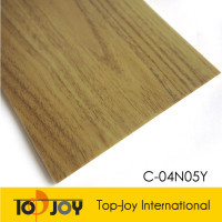 Anti-slip Eco High Quality Sports Wood PVC Vinyl Flooring