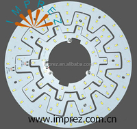 12W 15W 18W 24W pcb led circle ring light AC110-240V