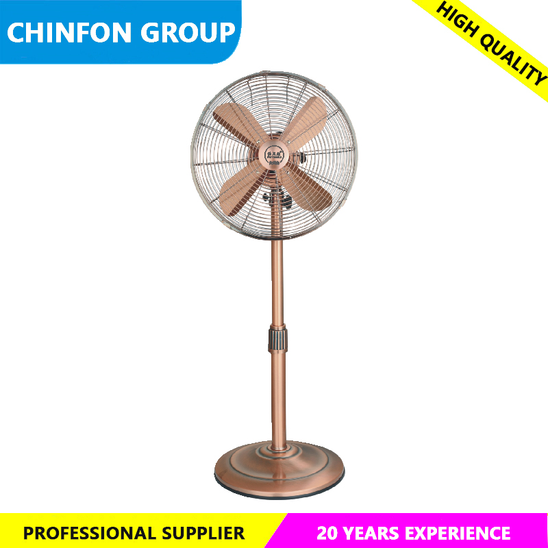 "High Quality Bronze Color DC stand fan 16"" Electric Fan ELectric Stand Fan"